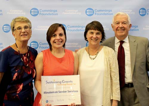 Minuteman Award Cummings Foundation Sustaining Grant