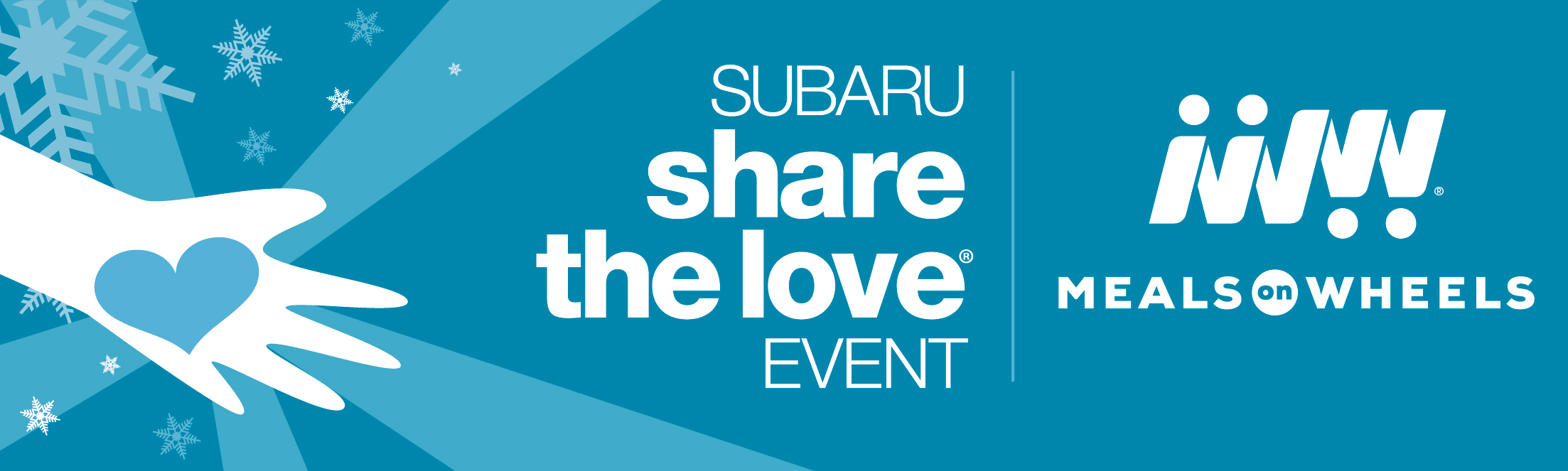 Subaru Share the Love Event - Meals on Wheels